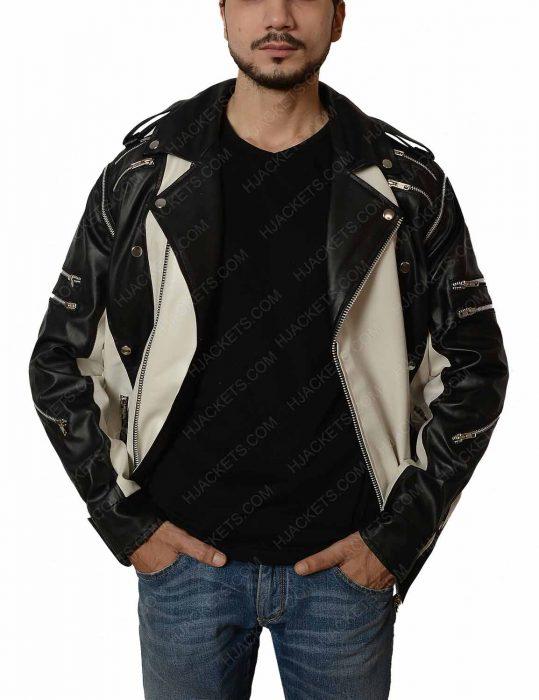 michael jackson black & white jacket