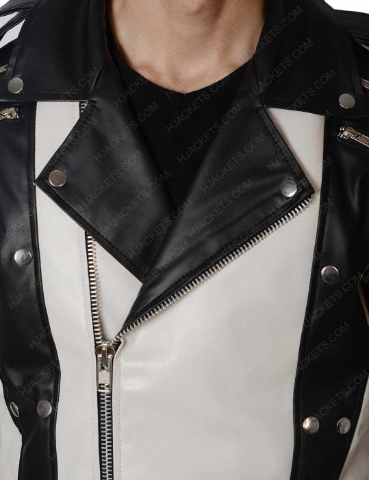 michael jackson white jacket