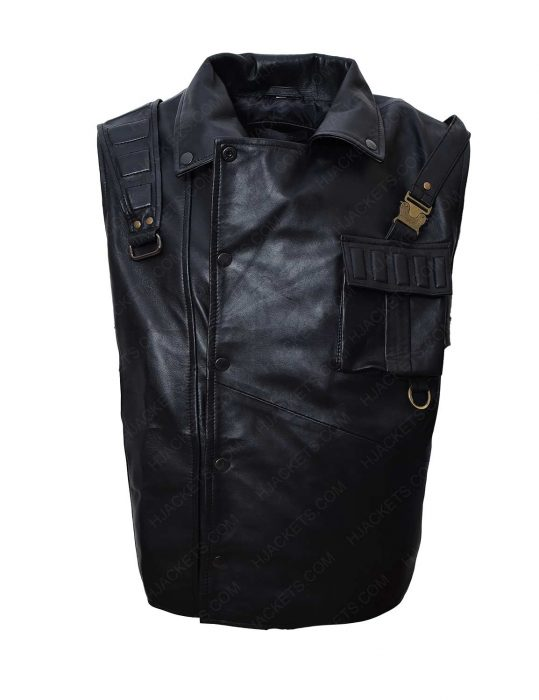 star trek discovery leather vest
