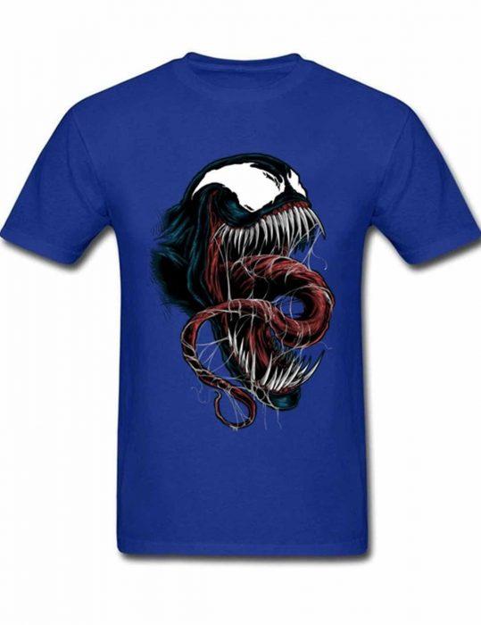 venom-big-skull-logo-blue-t-shirt