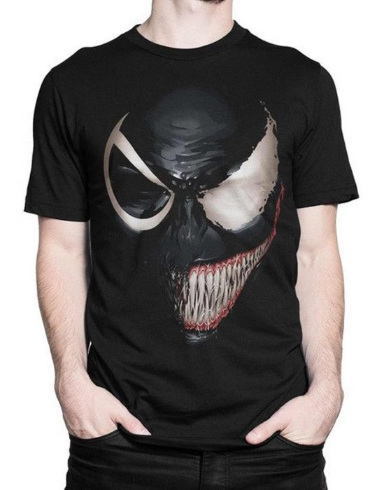 venom-black-and-white-face-t-shirt