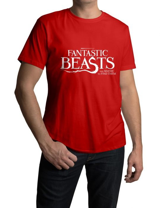Fantastic Beasts red tee shirt