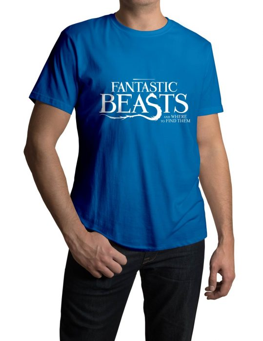 Fantastic Beasts blue tee shirt
