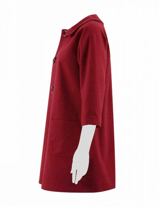 Adventures Sabrina Sabrina Spellma Red Jacket Coat