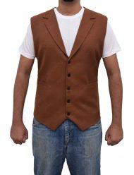 eddie-redmayne-brown-corduroy-vest