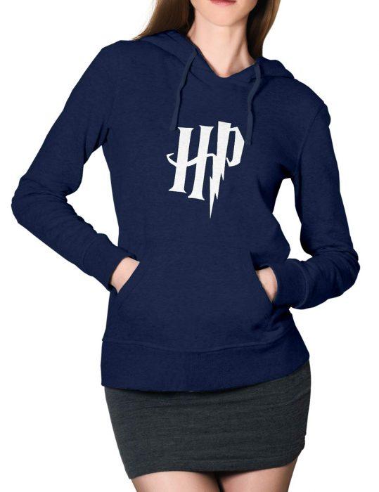 harrry-potter-blue-hoodie-for-women