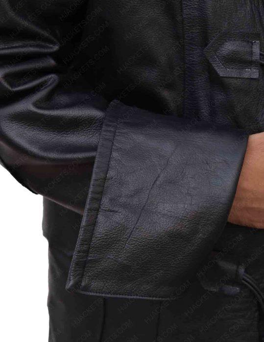 john-alden-black-leahter-trench-coat
