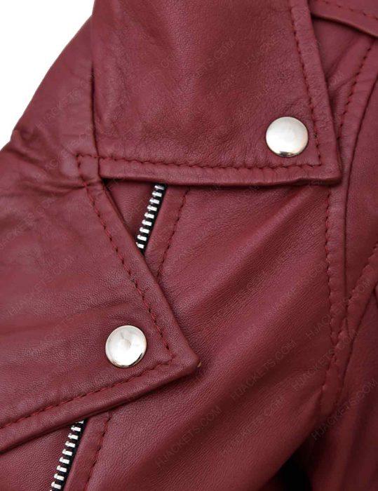 maroon-leather-biker-jacket