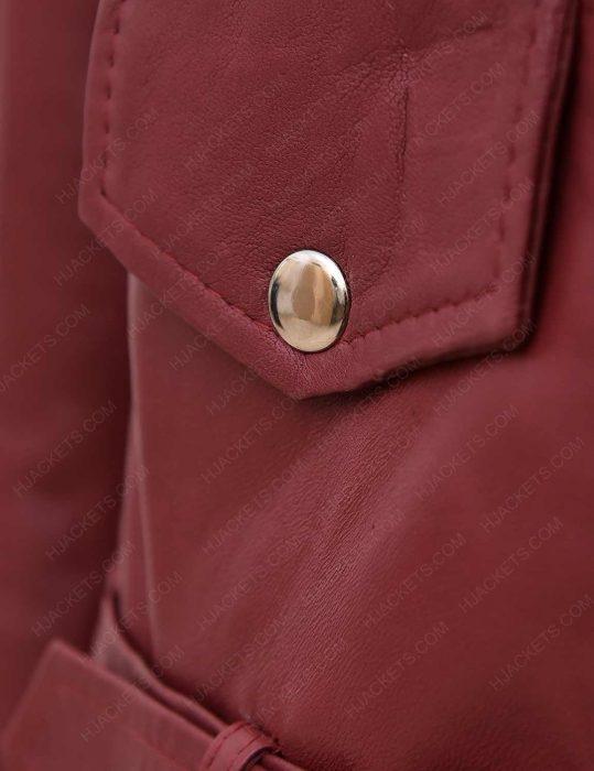 women-maroon-biker-assymetrical-leather-jacket