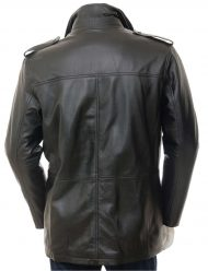 mens black trench coat