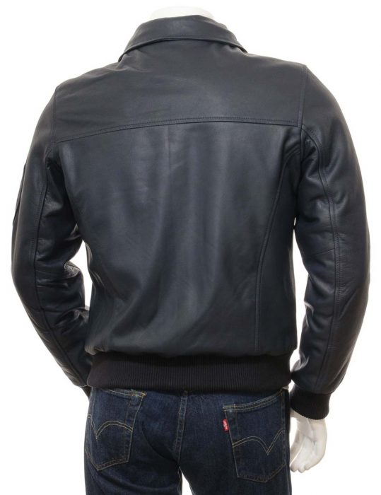 mens-blue-bomber-jacket