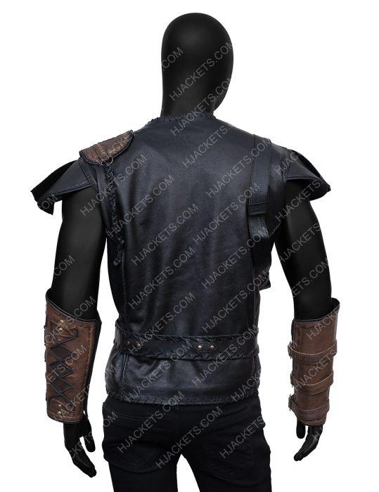 Chris Hemsworth The Huntsman Winter's War Leather Vest