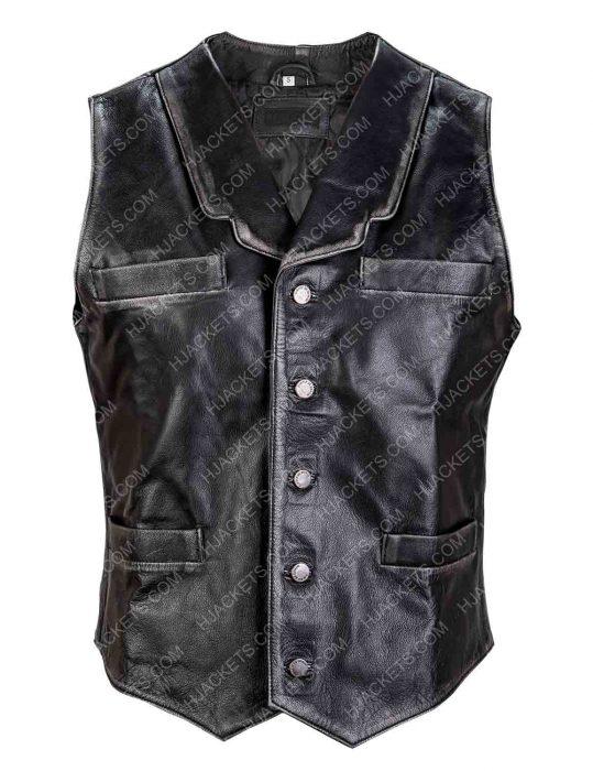 Hell on Wheels Cullen Bohannon black Vest