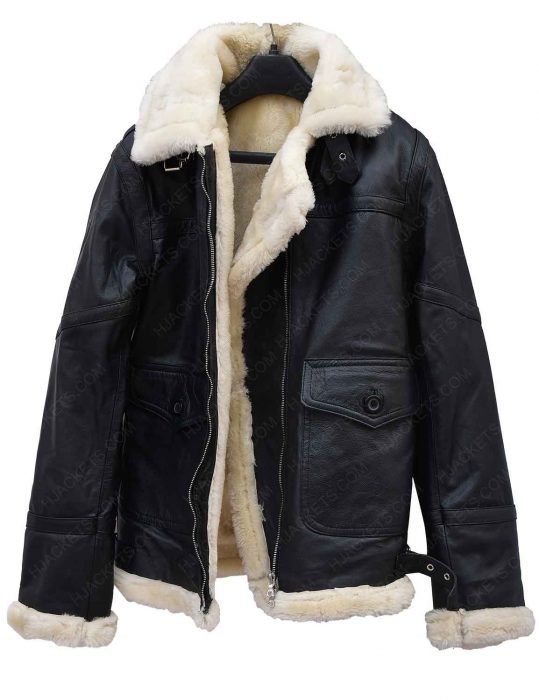 aviator-ivory-black-leather-shearling-jacket