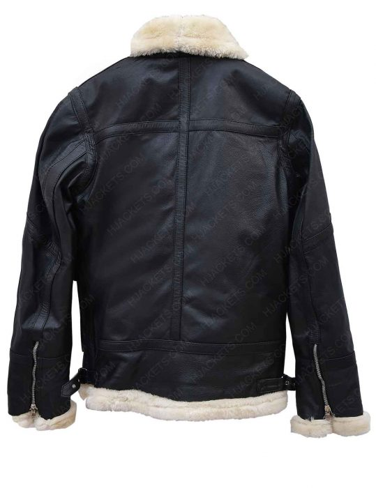 aviator-ivory-shearling-black-leather-jacket
