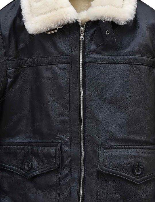 black-leather-aviator-ivory-shearling-jacket