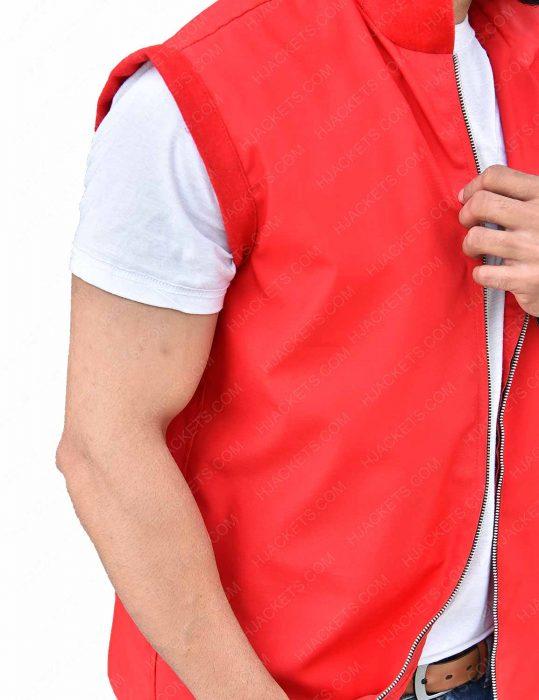 creed ii red hoodie