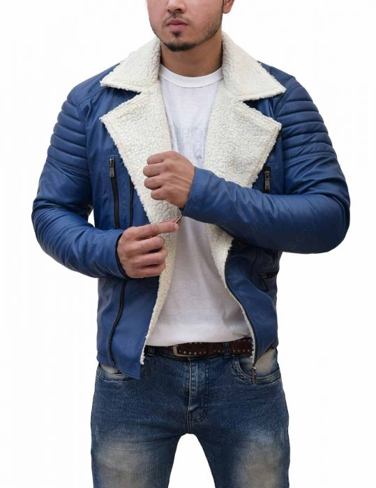 mens-asymmetrical-shearling-blue-leather-jacket