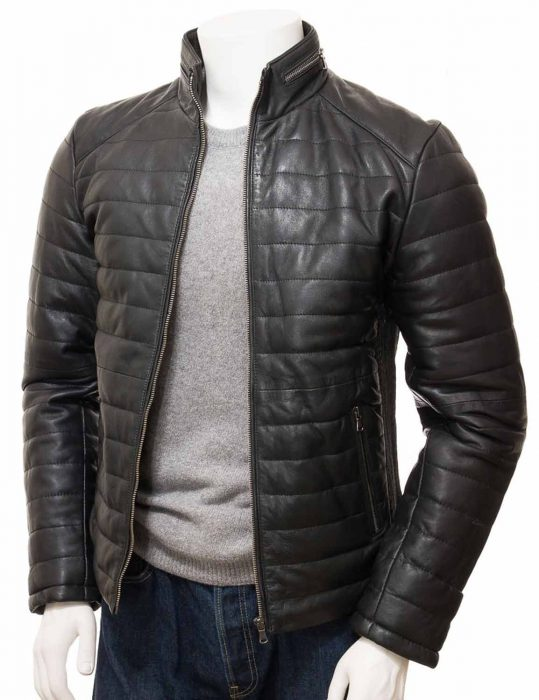 mens-black-quilted-leather-jacket