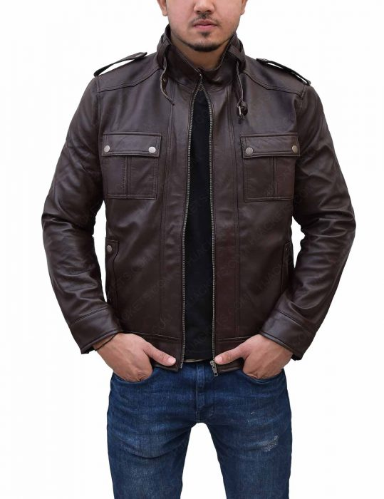 mens-slim-fitted-leather-jacket