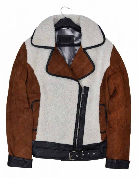 women-suede-and-shearling-half-zip-biker-jacket