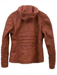 womens-brown-hooded-jacket