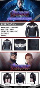 Avengers Endgame Captain America Infographics