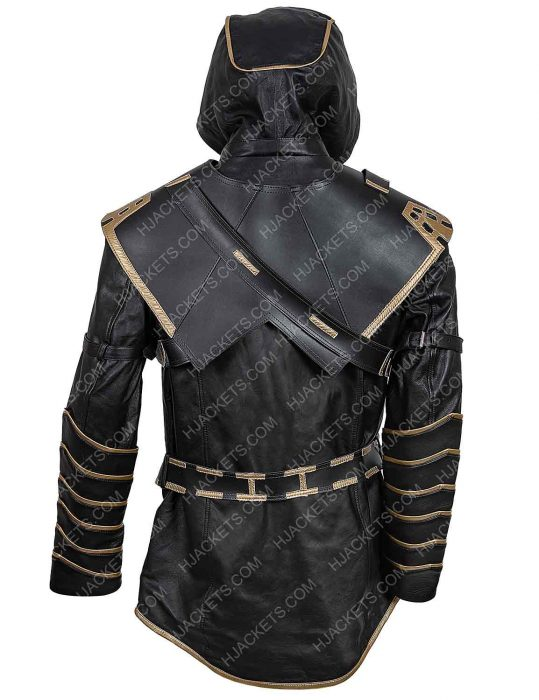 Avengers Endgame Clint Barton Hawkeye Leather Jacket