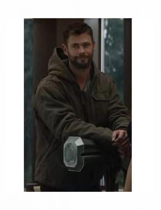 Avengers Endgame Chris Hemsworth Jacket