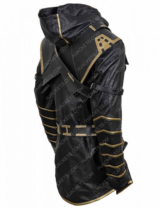 Jeremy Renner Ronin Avengers Endgame Leather Jacket