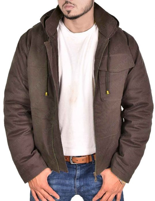 avengers endgame thor cotton brown jacket