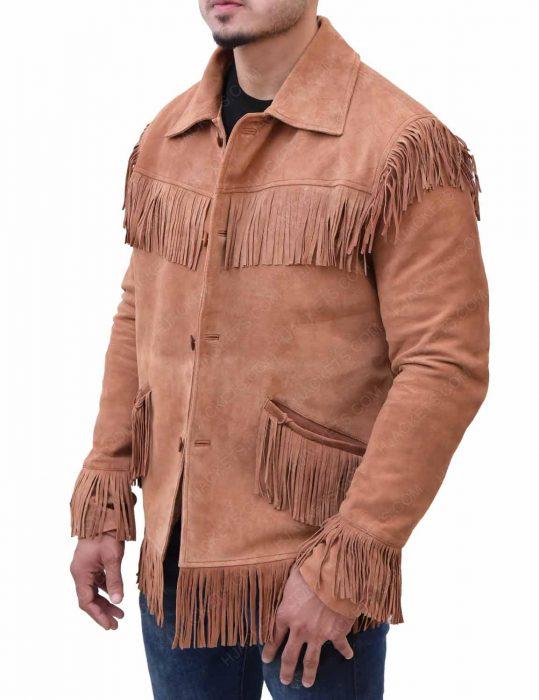 joe-buck-brown-leather-jacket