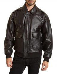 mens big and tall bomber double pocket jacket