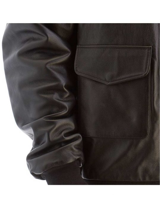 mens big and tall bomber leather jacket