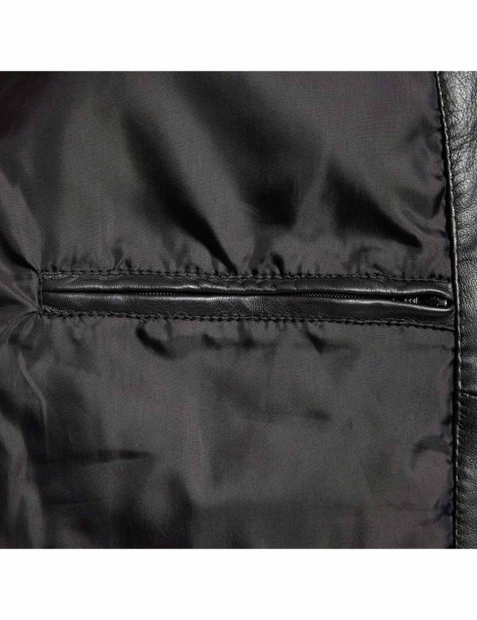 mens big & tall bomber leather jacket