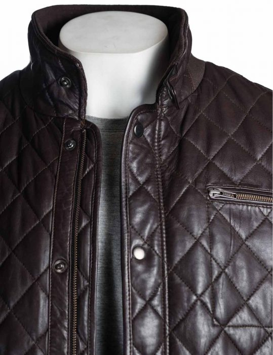 mens-brown-quilted-leather-biker-jacket