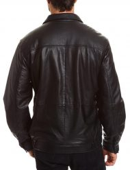 mens-tall-bomber-full-zip-black-jacket