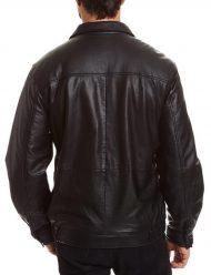 mens-tall-bomber-full-zip-black-jacket
