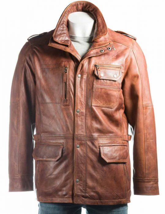 mens-tan-leather-jacket