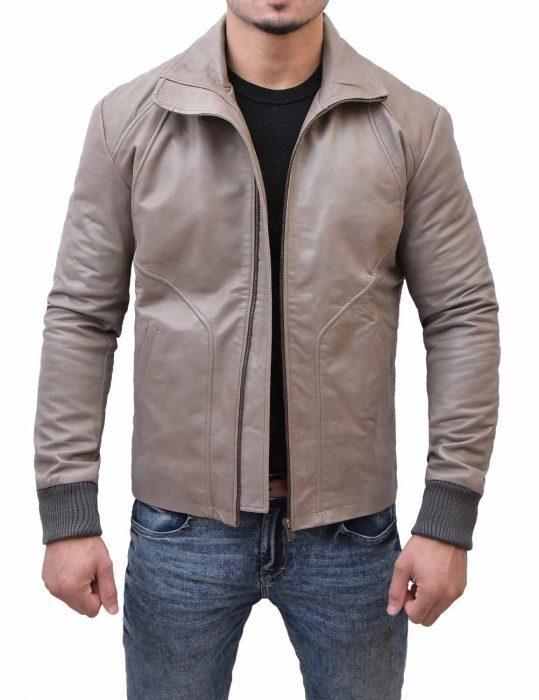 ryan-reynolds-brown-leather-biker-jacket