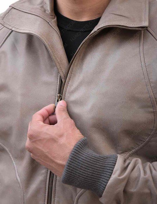ryan-reynolds-brown-leather-jacket