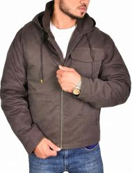 thor cotton brown jacket