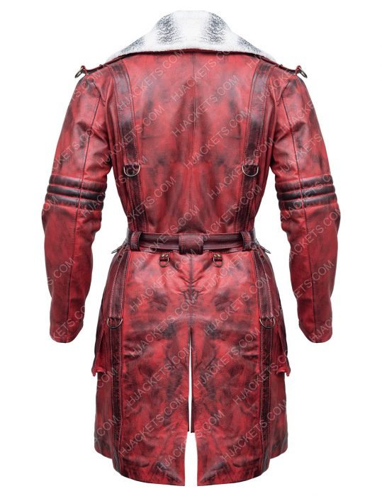 Fallout 4 Nuka Raider Leather Trench Coat