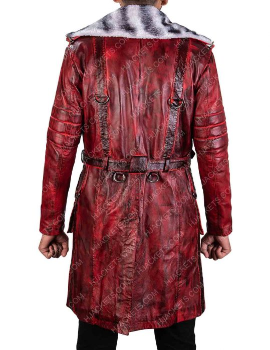 Maxson's Battle Fallout 4 Red Leather Coat