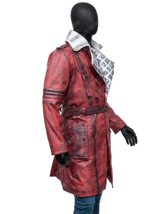 Maxson's Battle Fallout 4 Nuka Raider Leather Trench Coat