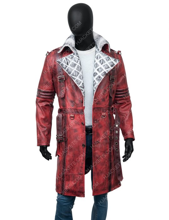 Maxson's Battle Fallout 4 Nuka Raider Red Leather Coat