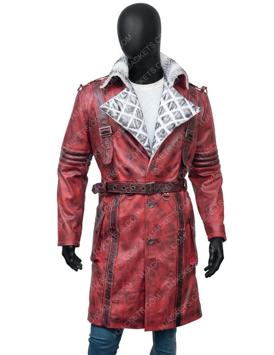 Maxson's Battle Fallout 4 Nuka Raider Red Trench Coat