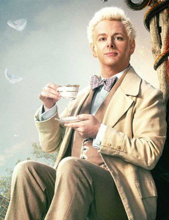good omens aziraphale cream coat