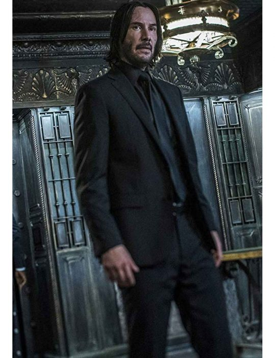 Keanu Reeves John Wick Chapter 3 Parabellum Suit