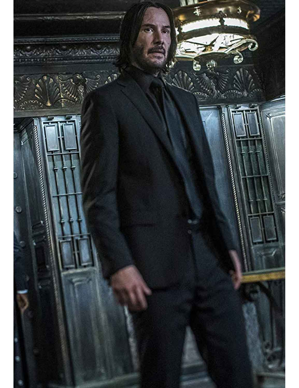 John Wick Chapter 3 Parabellum Keanu Reeves Suit